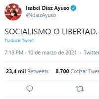 Analizamos los programas económicos de los partidos en la Comunidad de Madrid y los clasificamos como Socialismo o Libertad