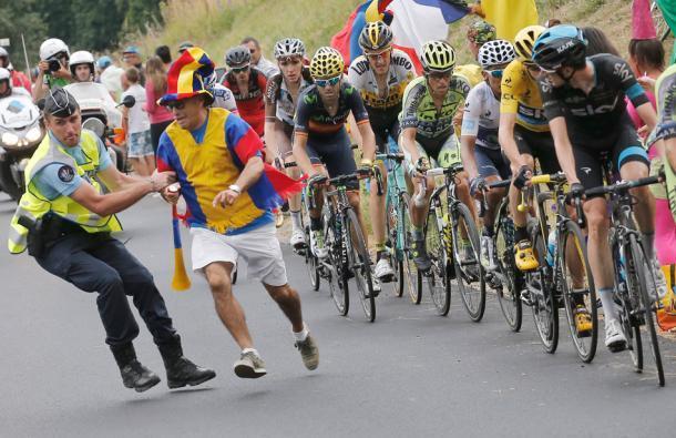 Foto de Nairo Quintana en el Tour de Francia (1/4)