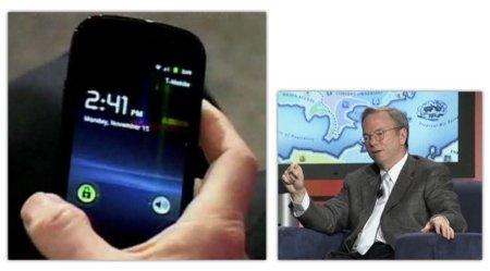 Eric Schmidt enseña un Nexus S y anuncia que el soporte NFC llegará a Android con Gingerbread