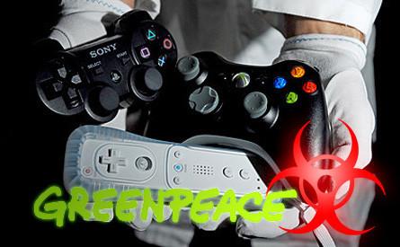 """Nintendo, Sony y Microsoft """"juegan sucio"""" según Greenpeace"""