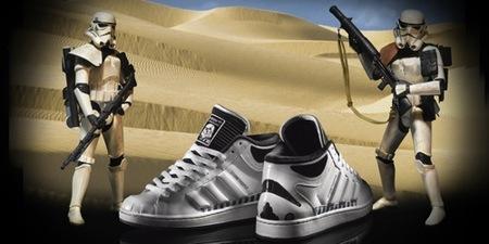 Adidas y Star Wars, la colaboración más espacial de 2010, Stormtroopers