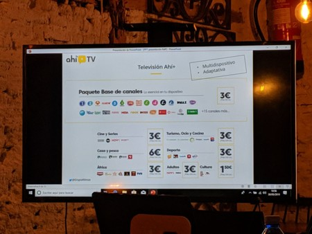 La televisión de Ahi+