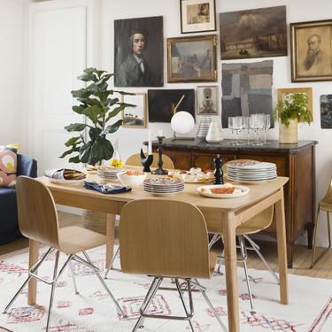 Dale un toque artístico a tu mesa con estas dos originales vajillas