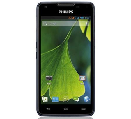 No te quedes sin batería, smartphone Philips W6618 con 5.300 mAh