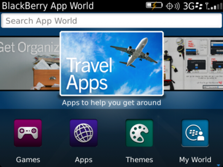 BlackBerry App World 3.0 ya disponible