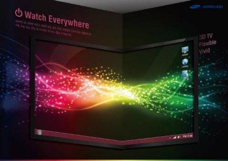 Samsung ya tiene en la cabeza las pantallas OLED 3D y flexibles