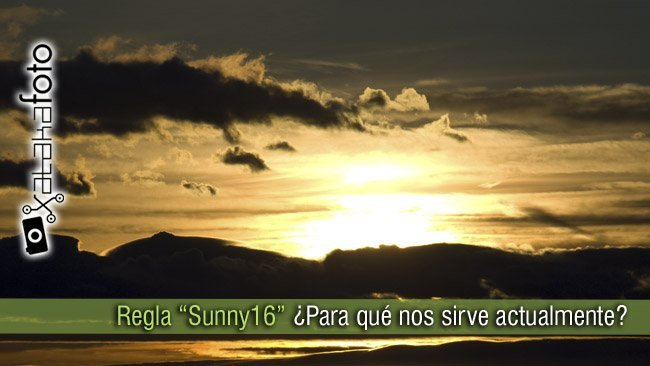 Regla del Sunny 16