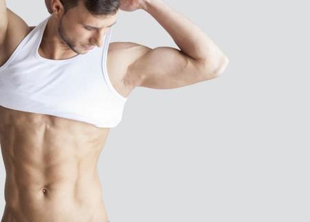 construir músculo y perder la dieta de la grasa del vientre