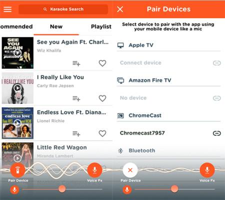 Karaoke Party, o cómo cantar en la tele usando el móvil y Chromecast o Apple Apple TV