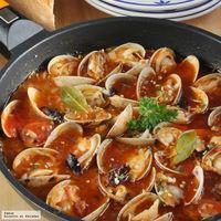 Receta de almejas en salsa picante, excelentes como aperitivo