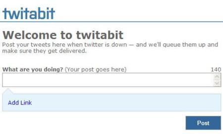 Twitabit, otro servicio para twitear cuando Twitter esta caído