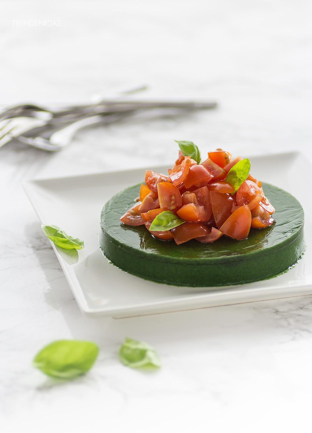 Receta de ensalada molecular cocina de dise o en tu mesa for Cocina molecular postres