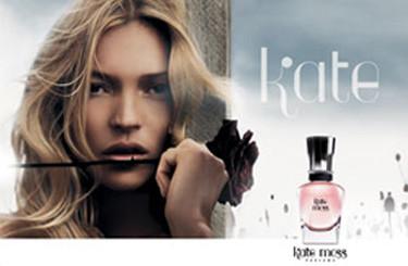 El anuncio de la fragancia de Kate Moss