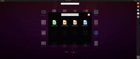 Ubuntu Focal Fosa Lanzador De Apps