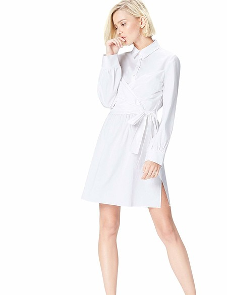 Vestido Blanco Lowcost