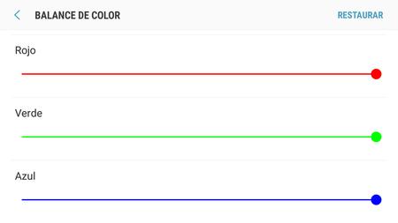 Ajustes De Color