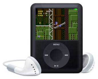 'Sonic The Hedgehog' en el iPod