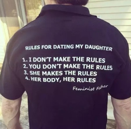 Camiseta Feminist Father