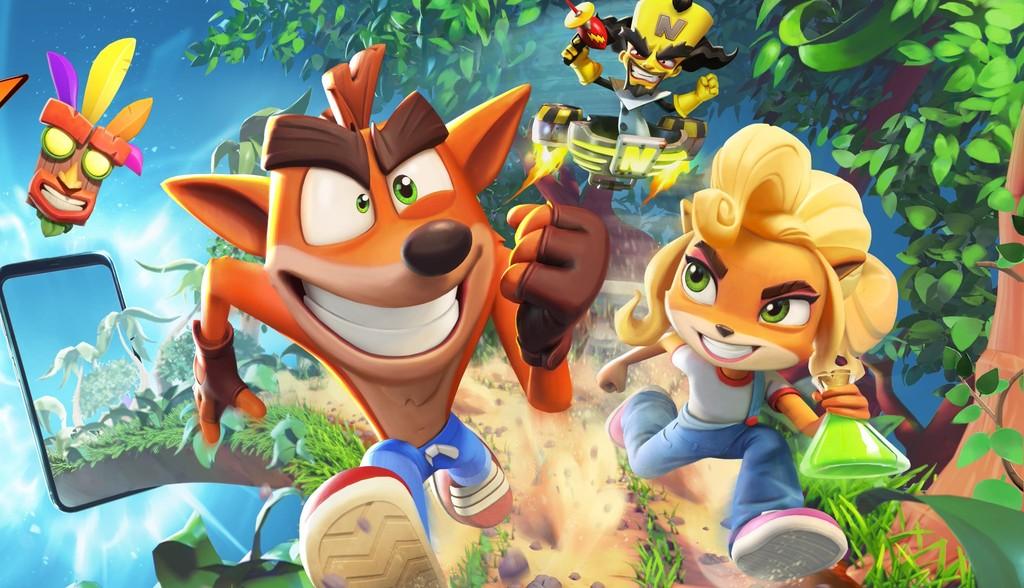 Crash Bandicoot: On the Run! ya es oficial. Así será el endless runner de la saga destinado a dispositivos móviles