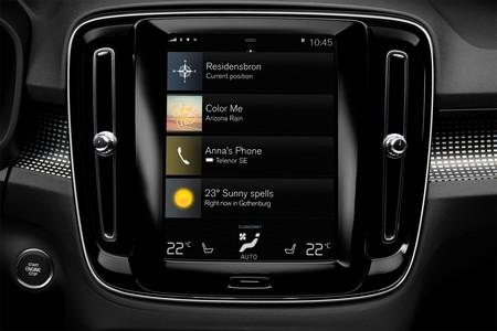 Volvo XC40 pantalla