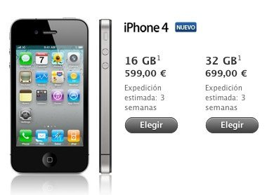 comprar iphone 4 libre