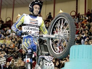 Victoria de Cabestany en el Trial Indoor de Milán