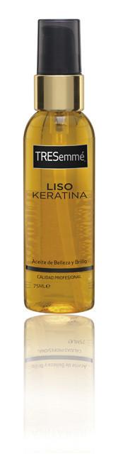 Aceite de Belleza y Brillo Liso Keratina de TRESemmé