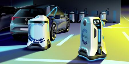 Volkswagen Robot Cargador Coche Electrico 3