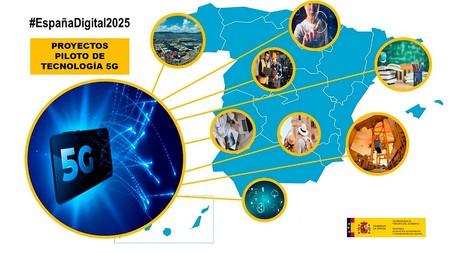 Pilotos 5G de España
