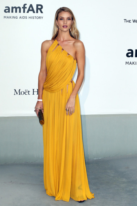 Rosie Huntington-Whiteley amfar Cannes 2014