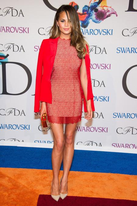 Chrissy Teigen CFDA Awards 2014