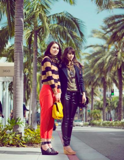 Dylana y Natalie Suarez HM