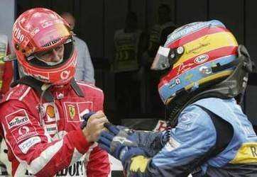 Schumacher vs Alonso: duelo de gigantes