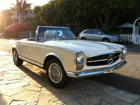 A la venta en eBay un Mercedes-Benz SL de 1965 eléctrico