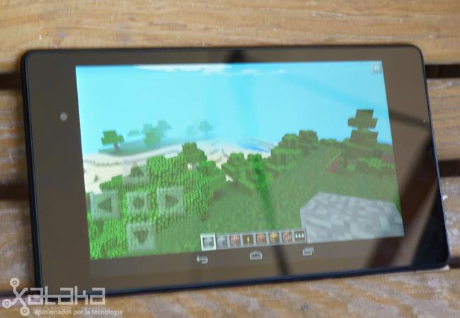 Nexus 7 Minecraft