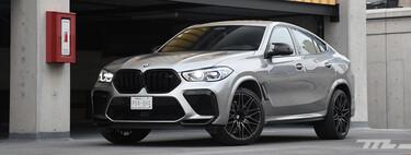 BMW X6 M Competition, a prueba: un apabullante SUV que no deja la deportividad a media tinta