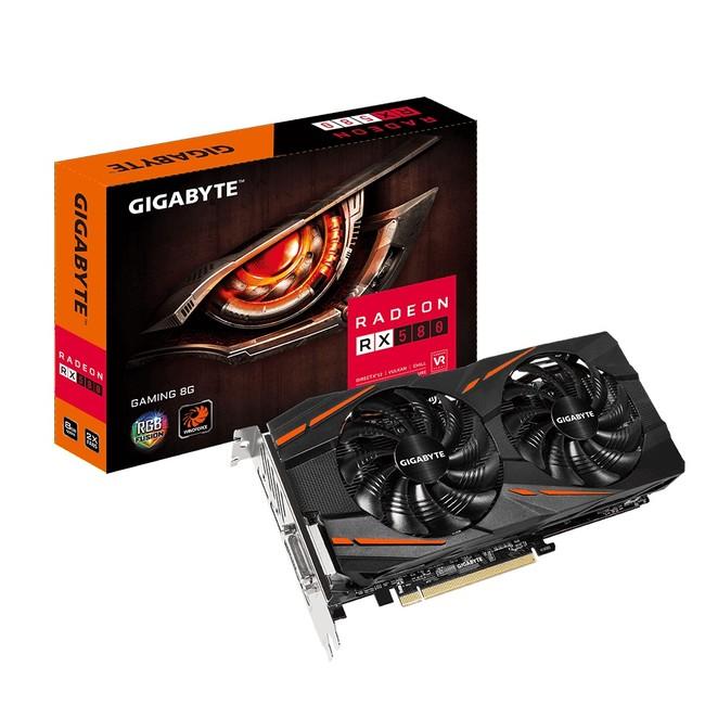 Tarjeta gráfica Gigabyte Radeon RX 580 de 8GB por 259,90 euros en Amazon