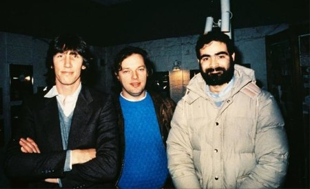 Zuccarelli Con Roger Waters Y David
