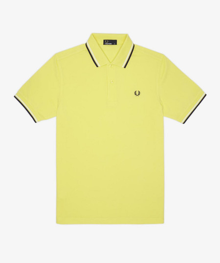 fred perry polo amarillo