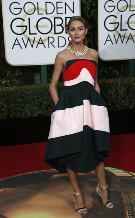 Olivia Palermo Delpozo Globos De Oro 2016 2