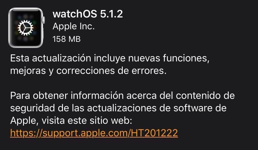 watchOS 5.1.2 ya está disponible: llega el electrocardiograma (ECG) al Apple Watch Series 4 en EEUU