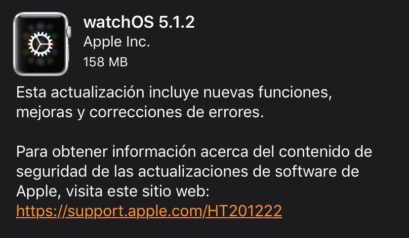 watchOS 5.1.2 ya está disponible: llega el electrocardiograma (ECG) al <stro />Apple℗</strong> Watch Series 4 en EEUU&#8221;>     </p> <div class=