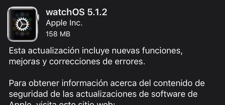 watchOS 5.1.2 ya está disponible: llega el electrocardiograma (ECG) al Apple Watch Series 4 en EEUU