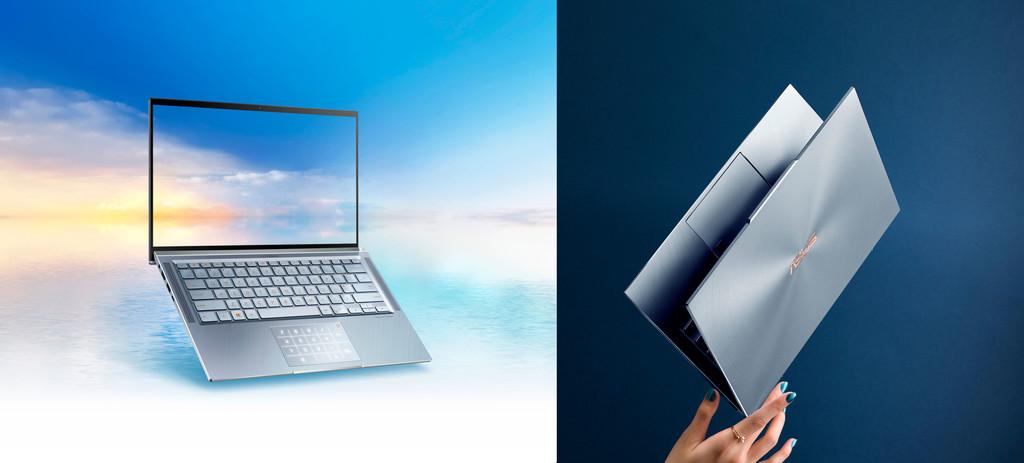 ASUS ZenBook 13S y ASUS ZenBook 14: marcos de récord, peso mínimo y peculiar