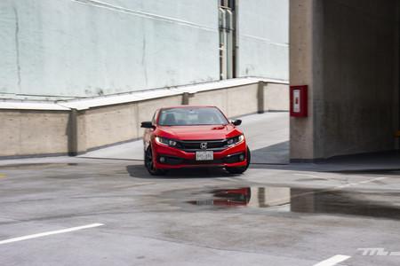 Honda Civic Coupe prueba de manejo opiniones mexico 19