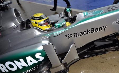 Nico Rosberg marca el mejor tiempo y demuestra la velocidad de Mercedes
