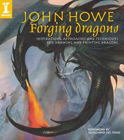 Forjando dragones: nuevo libro de John Howe