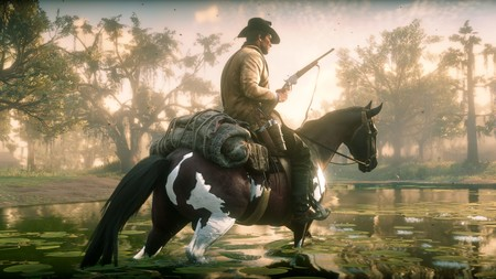 Red Dead Redemption 2 caballos