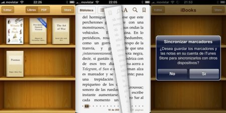 iBooks 1.1 con soporte de PDFs ya disponible también para iPhone y iPod touch