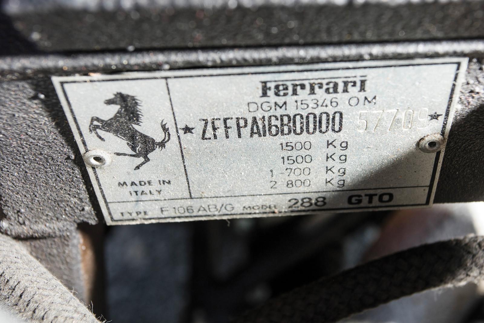 Foto de Ferrari 288 GTO en venta (13/16)